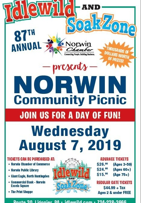 87th Annual Norwin Community Picnic- August 7th