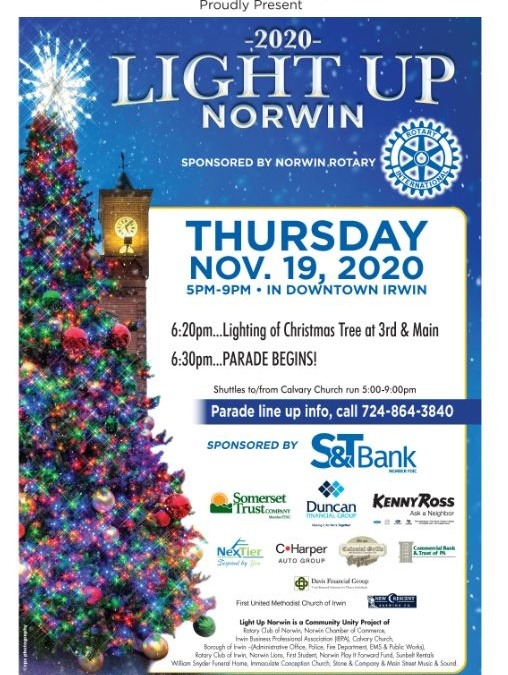 2020 Light Up Norwin