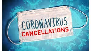 December 2020 Covid-19 Cancellations